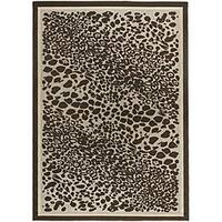 Artist's Loom Indoor/Outdoor Contemporary Animal Print Rug (1'11 x 3'7)