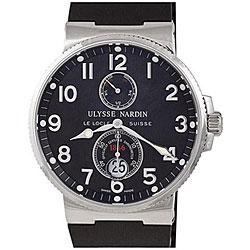 Ulysse Nardin Men's Maxi Marine Black Dial Chronometer Watch