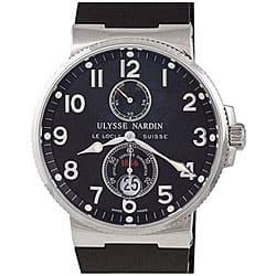 Ulysse Nardin Men's Maxi Marine Black Dial Chronometer Watch|https://ak1.ostkcdn.com/images/products/P12683001.jpg?impolicy=medium