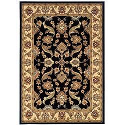 LR Home Adana Black / Cream Rug (5'1 x 7'5) - Thumbnail 0