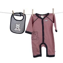 Absorba Infant Boy's 2-piece Bib and Bodysuit Set