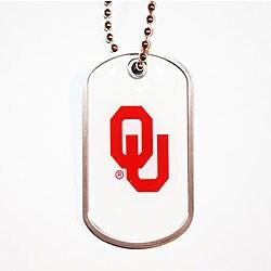Oklahoma Sooners Dog Tag Necklace - Thumbnail 0