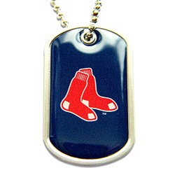 Boston Red Sox Dog Tag Necklace