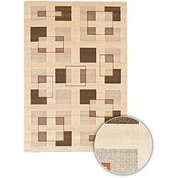 Artist's Loom Indoor Contemporary Geometric Rug (3'11 x 5'7)