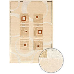 Artist's Loom Indoor Contemporary Geometric Rug - 3'11 x 5'7 - Thumbnail 0