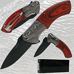 Wolf Molded 440 Stainless Steel Pocket Knife - Thumbnail 0