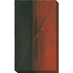 Alfonso Magallanes 'Ocre III' Canvas Giclee Art