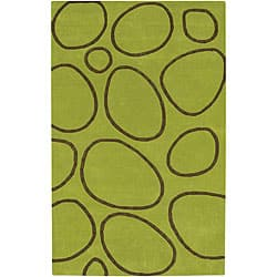Alliyah Handmade Green New Zealand Blend Wool Rug(8' x 10') https://ak1.ostkcdn.com/images/products/P12707543.jpg?impolicy=medium
