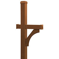 Salsbury In-ground Deluxe Copper-finish Mailbox Post