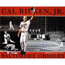 Baltimore Orioles Cal Ripken Jr. 16x20 Autographed Photo Collage