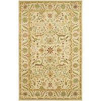 Safavieh Handmade Mahal Rectangular Ivory Wool Rug - 5' x 8'