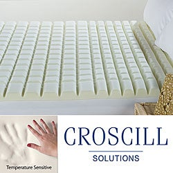 Croscill Geo-max Eco-Smart Memory Foam Queen/ King/ Cal King- Size Topper - Thumbnail 0