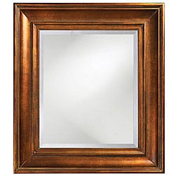 dunmore copper frame mirror