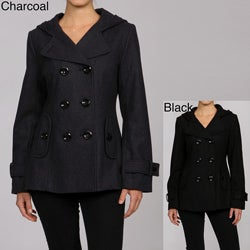 Hooded Pea Coats For Women vYoTlu