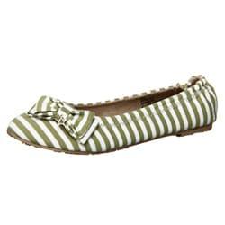 Thumbnail 1, Dr. Scholl's Women's 'Striped' Slip-on Flats.