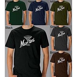 Los Angeles Pop Art Men's Martini T-shirt