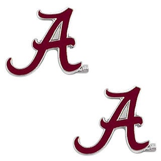 NCAA Alabama Crimson Tide Post Stud Logo Earring Set