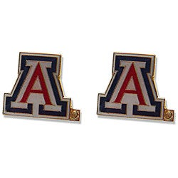 Arizona Wildcats Post Stud Logo Earrings - Thumbnail 0