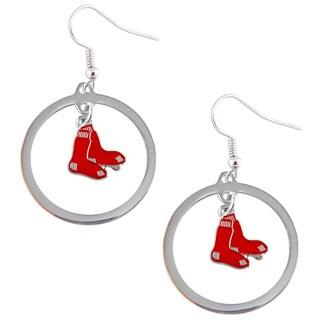 Boston Red Sox Dangle Logo Earrings