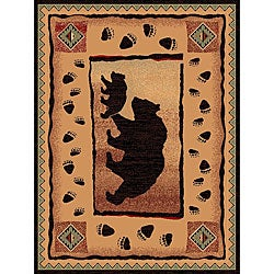 The Lodge Two Bears Southwestern Rug (5' x 8')