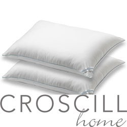 Croscill 400 Thread Count Extra Firm Pillows (Set of 2) - Thumbnail 0