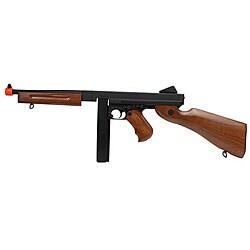 CYMA/ Softair Thompson M1A1 Full Metal AEG Rifle Combo - Thumbnail 0