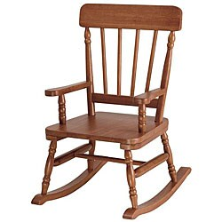 Simply Classic Maple Rocking Chair