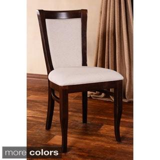 European Walnut Dining Chairs (Set of 2)