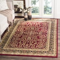 Safavieh Lyndhurst Traditional Oriental Red/ Black Rug - 4' x 6'