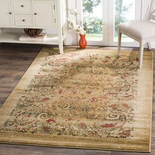 Safavieh Lyndhurst Collection Paisley Beige/ Multi Rug (3' 3 x 5' 3)