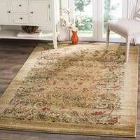 Safavieh Lyndhurst Collection Paisley Beige/ Multi Rug - 3'3 x 5'3