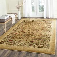 Safavieh Lyndhurst Collection Paisley Beige/ Multi Rug - 5'3 x 7'6