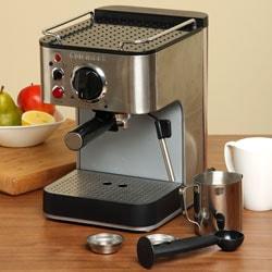 Coffee Maker Watt Kecil : Cuisinart EM-100FR 1000-watt 15-bar Espresso Maker (Refurbished) - Free Shipping Today ...