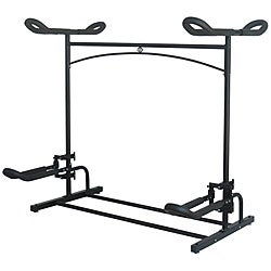 Stoneman Laguna Plus Dual Kayak Black Metal Storage Rack System