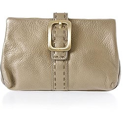 Cole Haan Small Kiss Champagne Cosmetic Case