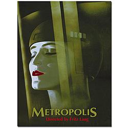 Werner Graul 'Metropolis' Canvas Poster