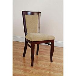 European Mahogany Dining Chairs (Set of 2)