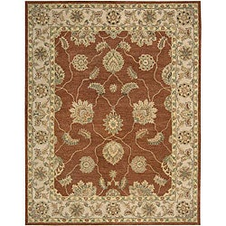 Nourison Hand Tufted Beaufort Copper Wool Rug - 7'6 x 9'6 - Thumbnail 0