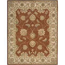 Nourison Hand Tufted Beaufort Wool Area Rug Overstock 5085781 Copper 7 6 X 9 6