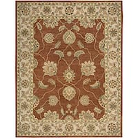 Nourison Hand Tufted Beaufort Copper Wool Rug (7'6 x 9'6)