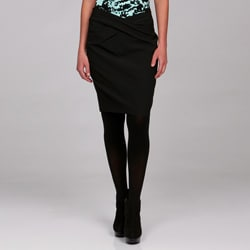 Thumbnail 1, MICHAEL Michael Kors Women's Drape Front Pencil Skirt.