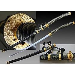 Black Jintachi 43.25-inch Ceremonial Samurai Sword