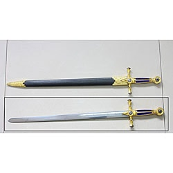 32-inch Masonic Sword with Scabbard - Thumbnail 0