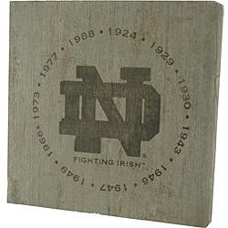 Notre Dame Fighting Irish 'National Champion Years' Bench Slab
