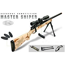 UTG 700 Pro Generation 5 Bolt Action Spring Powered Airsoft Sniper Rifle - Thumbnail 0
