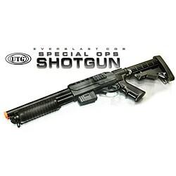 Spring UTG Remington 870 Special Ops Shotgun FPS-330 Airsoft Gun - Thumbnail 0