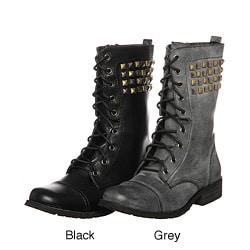 Bucco Women's '17-207' Lace-up Boots - Thumbnail 0