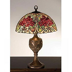 Rose Bouquet Bronze Accent Lamp - Thumbnail 0