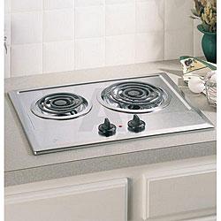 GE 21-inch Built-in Electric Cooktop