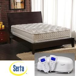 Shop Serta Perfect Rest 2 Zone King Size Airbed Mattress